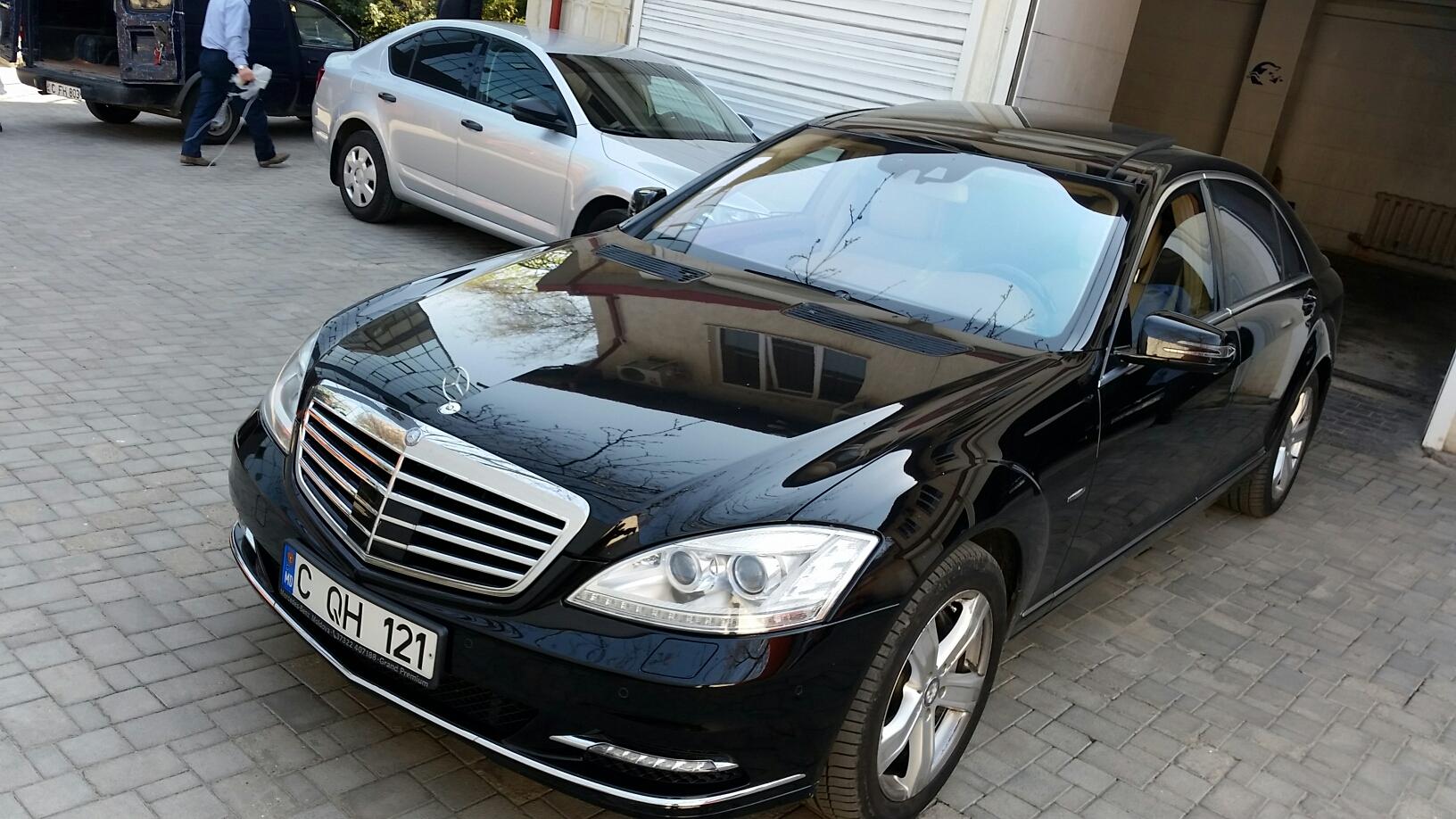 Autoturism Mercedes S-500